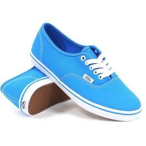 Vans Authentic Lo Pro Neon Blue